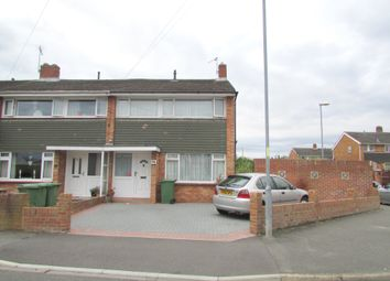 Thumbnail 3 bed end terrace house for sale in Lower Drayton Lane, Drayton, Portsmouth, Hampshire