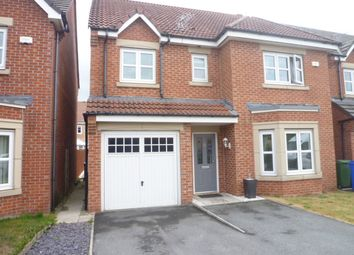 Thumbnail 4 bed detached house for sale in The Brambles, New Hartley, Tyne & Wear