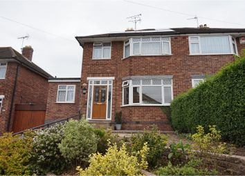 Thumbnail 3 bed semi-detached house for sale in Sanvey Lane, Leicester