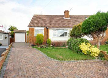 Thumbnail 2 bed semi-detached bungalow for sale in Quantock Close, Salvington, West Sussex