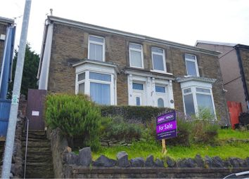 Thumbnail 4 bed semi-detached house for sale in Old Road, Neath