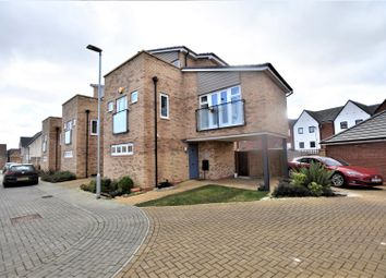 Thumbnail 3 bed semi-detached house for sale in Agrippa Crescent, Fairfields, Milton Keynes