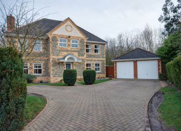 Thumbnail 5 bed detached house for sale in Norham Drive, Morpeth