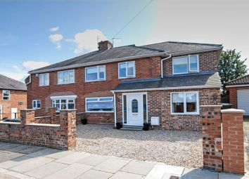 Thumbnail 4 bed semi-detached house for sale in Welford Avenue, Gosforth, Newcastle Upon Tyne
