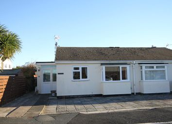 Thumbnail 2 bed semi-detached bungalow for sale in Corbett Close, Tywyn, Gwynedd