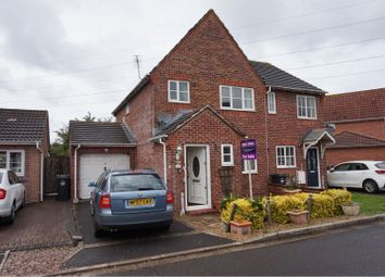 Thumbnail 3 bed semi-detached house for sale in Lanthony Close, Weston-Super-Mare