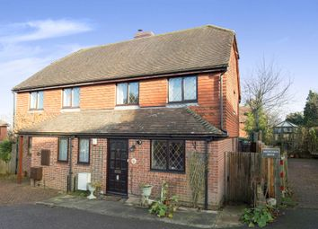 Thumbnail 3 bed semi-detached house for sale in Lion Lane, Turners Hill, Crawley