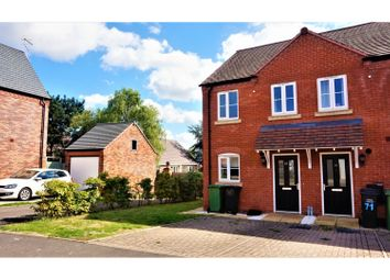 Thumbnail 2 bed end terrace house for sale in Desjardins Way, Pershore