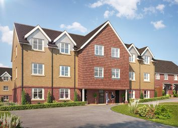 Thumbnail 2 bed flat for sale in Skylark Close, Epsom