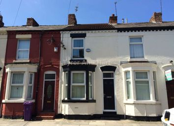 Thumbnail 3 bedroom terraced house to rent in Hinton Street, Fairfield, Liverpool