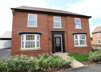 Thumbnail 4 bed detached house to rent in Brick Kiln Road, Newton Solney, Burton-On-Trent