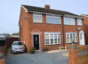 Thumbnail 3 bed semi-detached house for sale in Chestnut Crescent, Holme On Spalding Moor