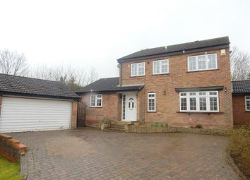 Thumbnail 4 bed detached house to rent in Pennine Close, Oadby, Leicester
