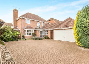 Thumbnail 4 bed detached house for sale in Oak Drive, Pulloxhill, Bedford