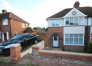 Thumbnail 3 bedroom semi-detached house for sale in Mossbank Avenue, Luton