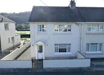 Thumbnail 3 bed semi-detached house for sale in Heol Y Neuadd, Llandysul, Ceredigion