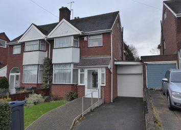 Thumbnail 3 bedroom semi-detached house for sale in Bell Hill, Northfield, Birmingham
