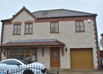 Thumbnail 5 bedroom detached house for sale in Mill Lane, Broughton, Brigg