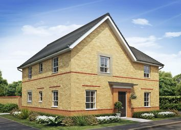"Thumbnail 4 bedroom detached house for sale in ""Alderney"" at Heol Pentre Bach, Gorseinon, Swansea"