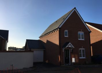 Thumbnail 3 bed detached house to rent in Kingfisher Close, Seaton