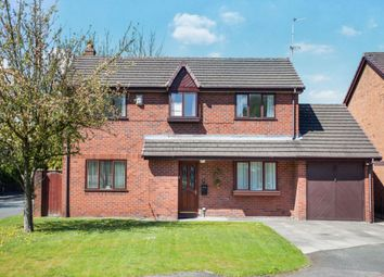 Thumbnail 4 bed detached house for sale in Old School Place, Ashton-In-Makerfield, Wigan
