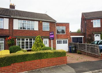 Thumbnail 5 bedroom semi-detached house for sale in Grenville Drive, Gosforth