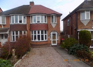 Thumbnail 3 bed semi-detached house to rent in Ennersdale Road, Coleshill