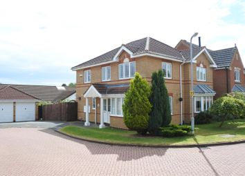 Thumbnail 4 bed detached house for sale in Tattershall Close, Grantham