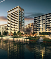 Thumbnail 2 bed flat for sale in Royal Wharf. Woolwich Road, London