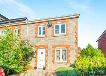 Thumbnail 3 bed semi-detached house for sale in Heol Gruffydd, Rhydyfelin, Pontypridd