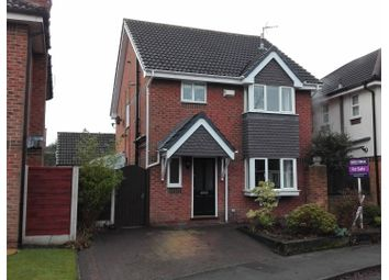 Thumbnail 3 bed detached house for sale in Ayshford Close, Altrincham