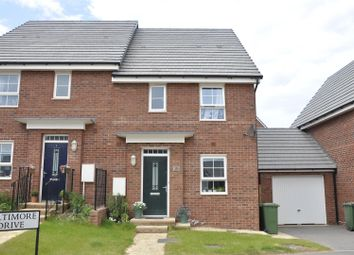 Thumbnail 3 bed semi-detached house for sale in Alfranza Close, Whiteway Drive, Exeter
