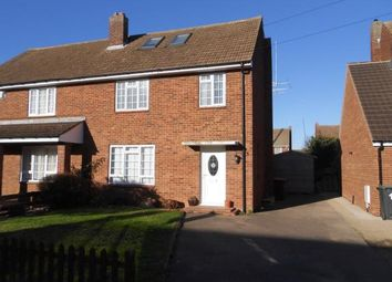 Thumbnail 4 bed semi-detached house for sale in Wellington Road, Shortstown, Bedford, Bedfordshire