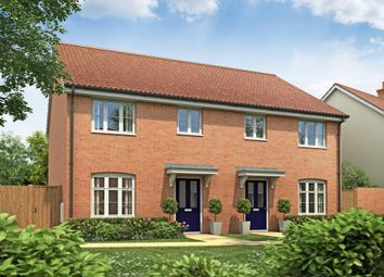"Thumbnail 3 bedroom semi-detached house for sale in ""Plot 97 The Gosford"" at Norwich Road, Dereham"
