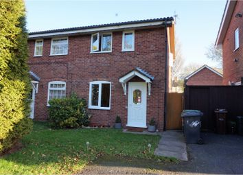 Thumbnail 2 bedroom semi-detached house for sale in Snowdon Way, Wolverhampton
