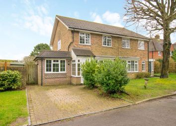 Thumbnail 3 bed semi-detached house for sale in Forest View, Nutley, Uckfield