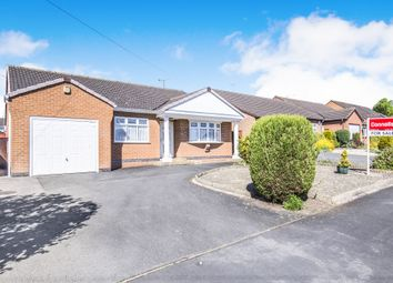 Thumbnail 2 bedroom detached bungalow for sale in De La Bere Crescent, Burbage, Hinckley
