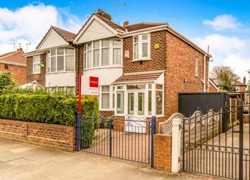 Thumbnail 3 bed semi-detached house for sale in Hurstville Road, Chorlton, Manchester, Greater Manchester