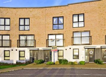 Thumbnail 3 bed town house for sale in Southfields Green, Gravesend, Kent