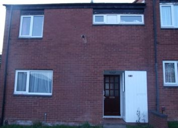 Thumbnail 3 bed end terrace house to rent in Brindley Ford, Brookside, Telford