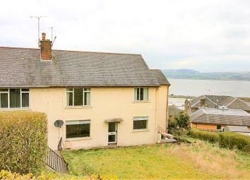 Thumbnail 3 bedroom flat for sale in Hillside Drive, Port Glasgow