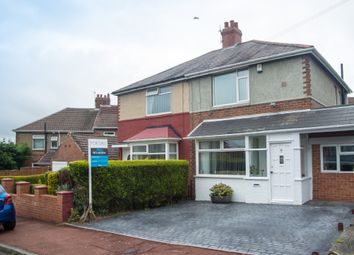 Thumbnail 2 bedroom semi-detached house for sale in Castleside Road, Newcastle Upon Tyne