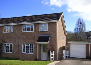 Thumbnail 3 bed semi-detached house for sale in Stuart Avenue, The Danes, Chepstow