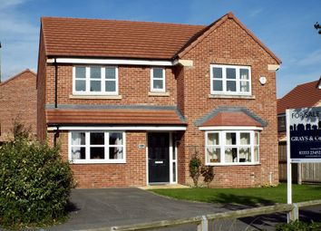 Thumbnail 4 bed detached house for sale in Robb Street, Pocklington, York