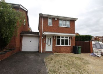Thumbnail 3 bed detached house for sale in Wexford Close, Milking Bank, Dudley, West Midlands