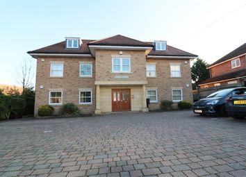 Thumbnail 2 bed flat for sale in Highview Court, Burton Lane, Goffs Oak, Hertfordshire