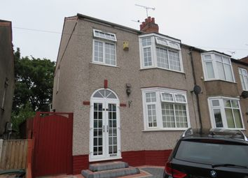 Thumbnail 3 bed end terrace house to rent in Cheveral Avenue, Coventry