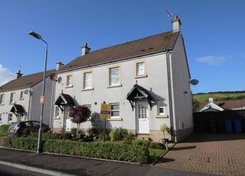 Thumbnail 3 bed semi-detached house for sale in Noddleburn Place, Largs, North Ayrshire