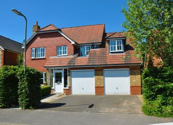Thumbnail 6 bed detached house for sale in Blueberry Gardens, Andover