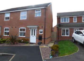 Thumbnail 3 bed semi-detached house for sale in Lamberton Drive, Brymbo, Wrexham, Wrecsam